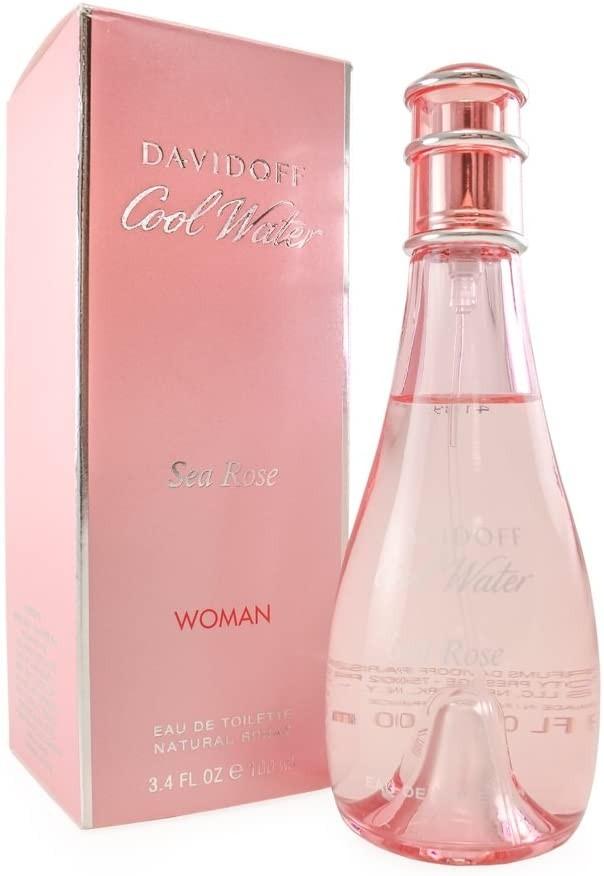 Davidoff Cool Water Sea Rose Eau de Toilette Spray for Her 100 ml