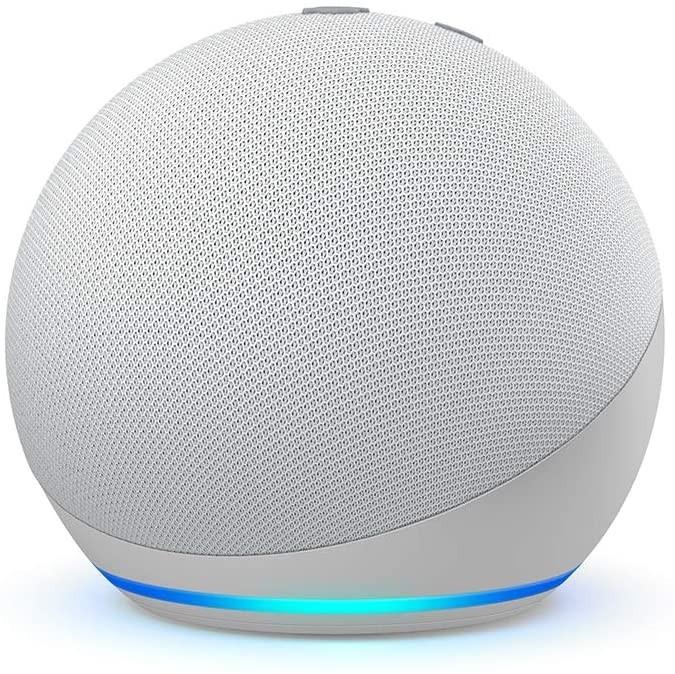 Amazon Echo Dot (4th generation) | Smart speaker with Alexa Glacier White