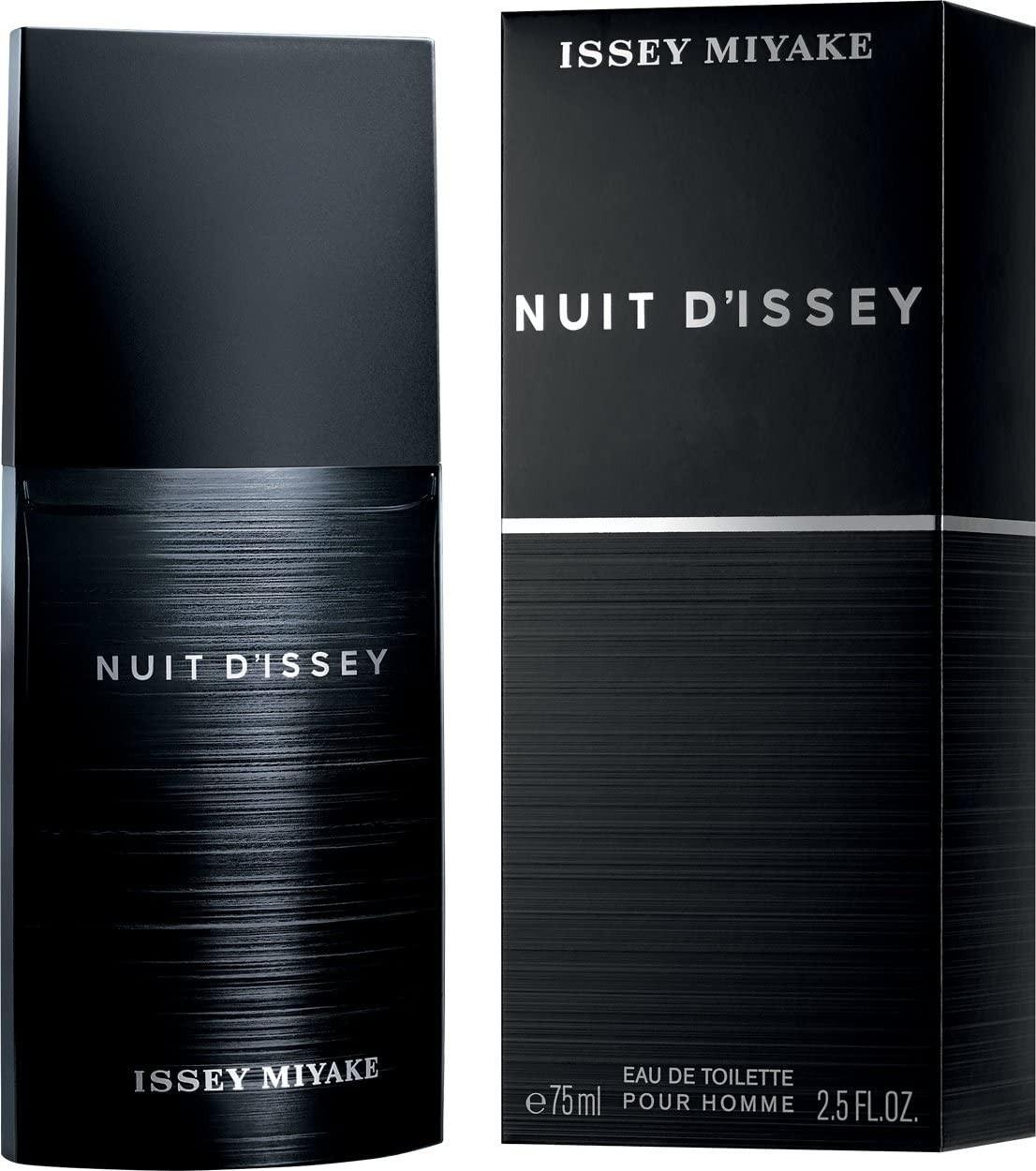 Issey Miyake Nuit D'Issey Eau de Toilette Spray for Men, 75 ml