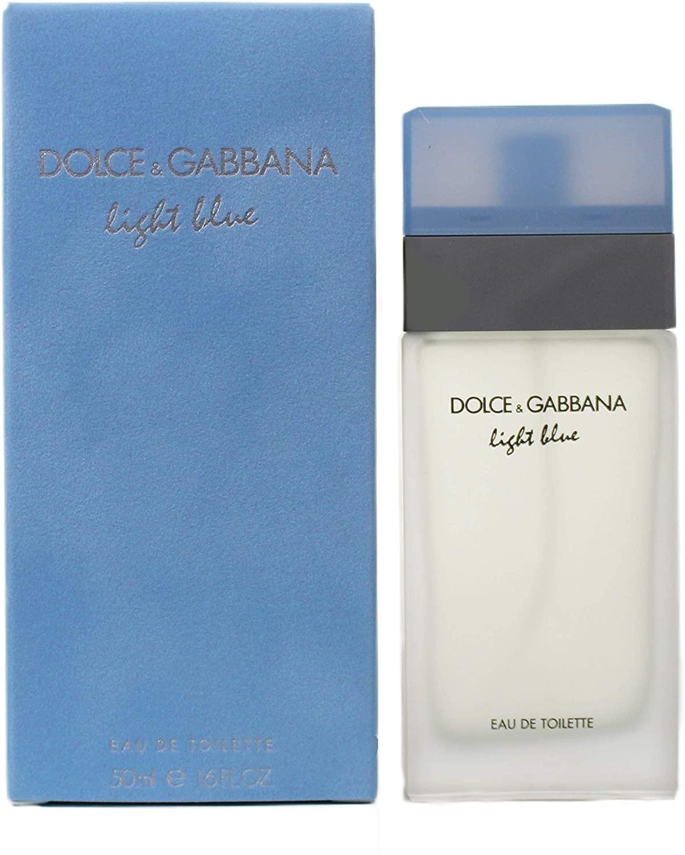 Light Blue by Dolce & Gabbana Eau De Toilette For Women 50ml