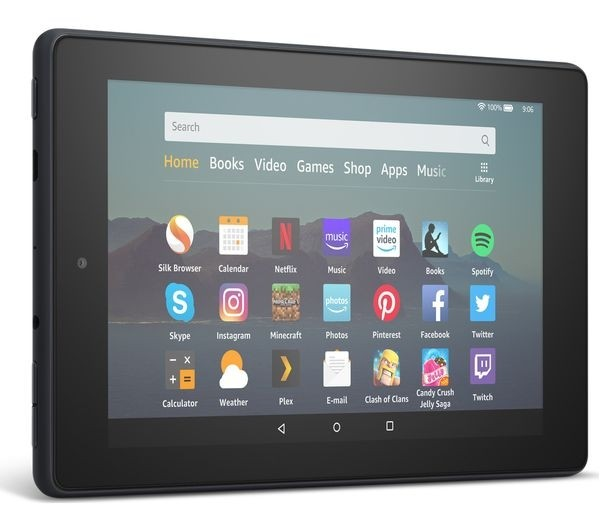 AMAZON Fire 7 Tablet (2019) - 16 GB, Black