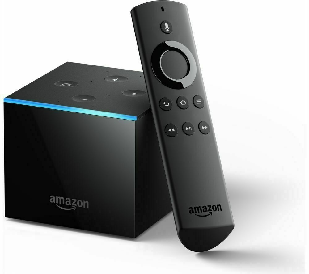 Fire TV Cube | Hands free with Alexa, 4K