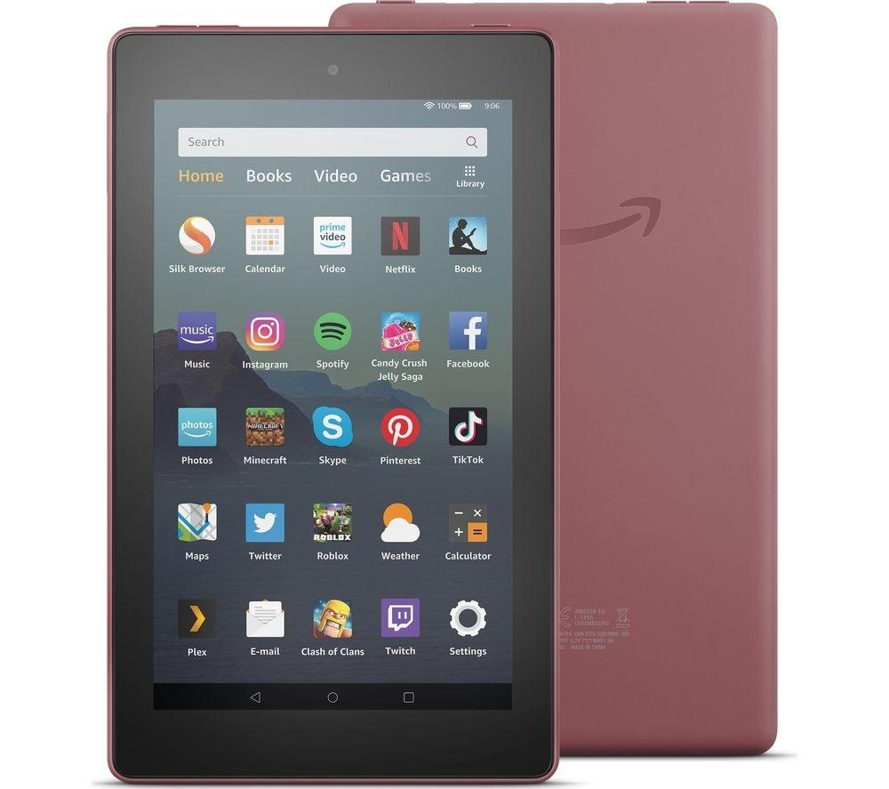 AMAZON Fire 7 Tablet (2019) - 16 GB, Purple
