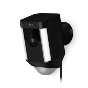 Ring Spotlight Cam Wired HD Security Camera with LED Spotlight, Alarm, Two-Way Talk