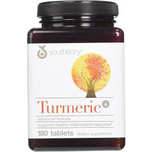 Youtheory Turmeric 180 Tablets Advanced Formula