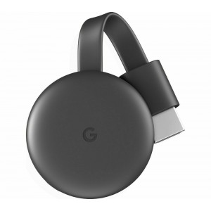 GOOGLE Chromecast - Third Generation Charcoal
