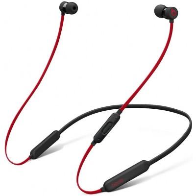 BeatsX Wireless Earphones - Apple W1 Headphone Chip, Class 1 Bluetooth, 8 Hours Of Listening Time - Black-Red