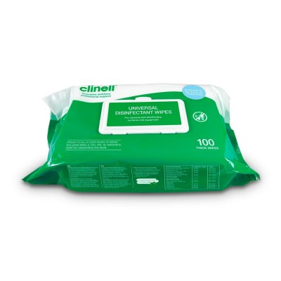 Clinell - Universal Cleaning and Surface Disinfection Wipes