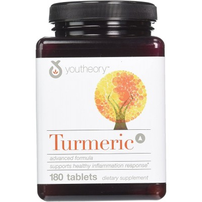 Youtheory Turmeric 180 Tablets Advanced Formula