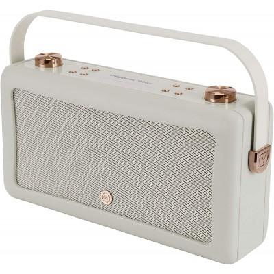 Hepburn Voice by VQ – with Amazon Alexa Voice Control & Portable Bluetooth Speaker – Grey & Copper